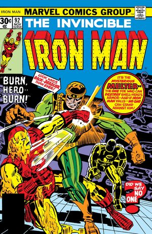 Iron Man (1968) #92, written by Gerry Conway.