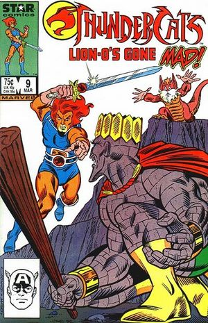 ThunderCats (1985) #9, written by Gerry Conway.