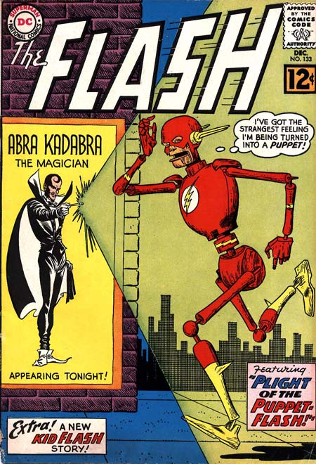 The Flash (1940) #133, cover by Carmine Infantino.