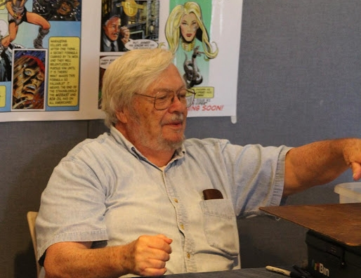 Frank McLaughlin at a comic convention in 2015.