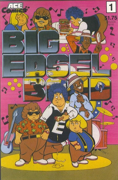 Big Edsel Band (1987) #1, cover by Frank McLaughlin.