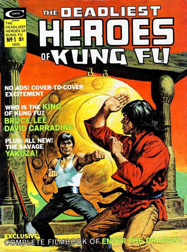 The Deadliest Hands Of Kung-Fu (1975) #1, featuring a story written by Frank McLaughlin.