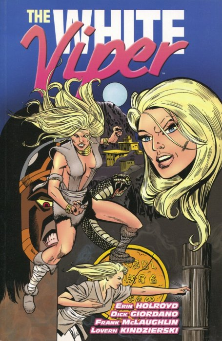 White Viper (2012) Trade paperback from IDW.