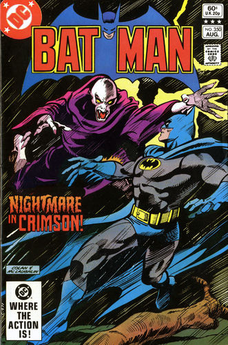 Batman (1940) #350, cover penciled by Gene Colan & inked by Frank McLaughlin.