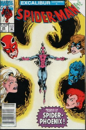 Spider-Man (1990) #25, cover penciled by Mark Bagley & inked by Al Milgrom.