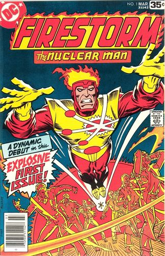 Firestorm (1978) #1, cover by Al Milgrom.