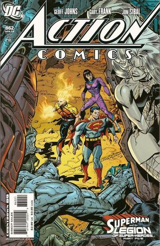 Action Comics (1938) #862 Variant, cover penciled by Keith Giffen & inked by Al Milgrom.