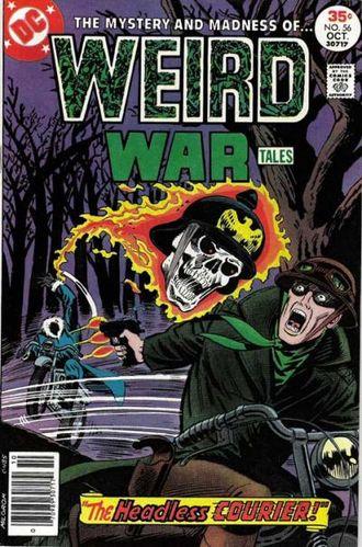 Weird War Tales (1971) #56, cover by Al Milgrom.