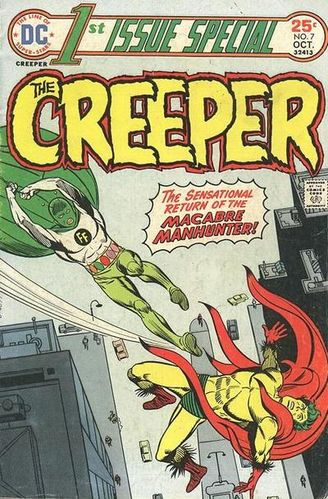 1st Issue Special (1975) #7, cover penciled by Steve Ditko & inked by Al Milgrom.