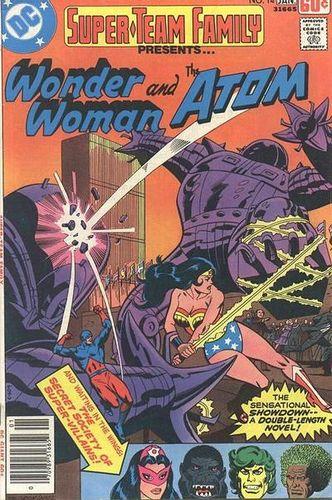 Super-Team Family (1975) #14, cover by Al Milgrom.