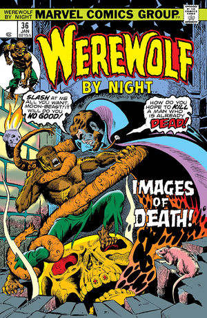 Werewolf by Night (1972) #36, cover by Don Perlin.