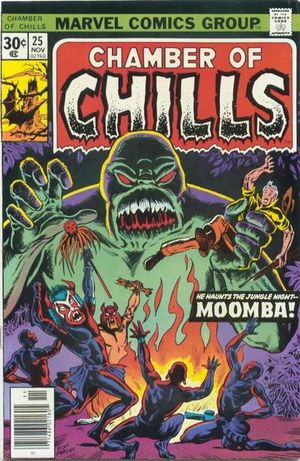 Chamber of Chills (1972) #25, cover by Don Perlin.