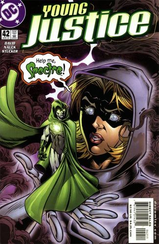 Young Justice (1998) #42, cover penciled by Todd Nauck & inked by Tom Palmer.