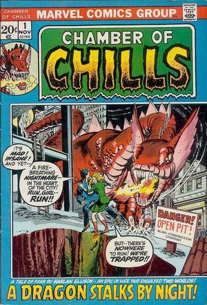 Chamber of Chills (1972) #1, cover penciled by Gil Kane & inked by Tom Palmer.