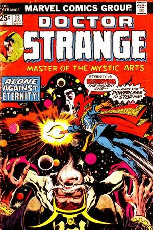 Doctor Strange (1974) #13, cover penciled by Gene Colan & inked by Tom Palmer.