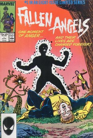 Fallen Angels (1987) #1, cover penciled by Kerry Gammill & inked by Tom Palmer.