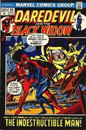 Daredevil (1964) #93, cover penciled by Gil Kane & inked by Tom Palmer.