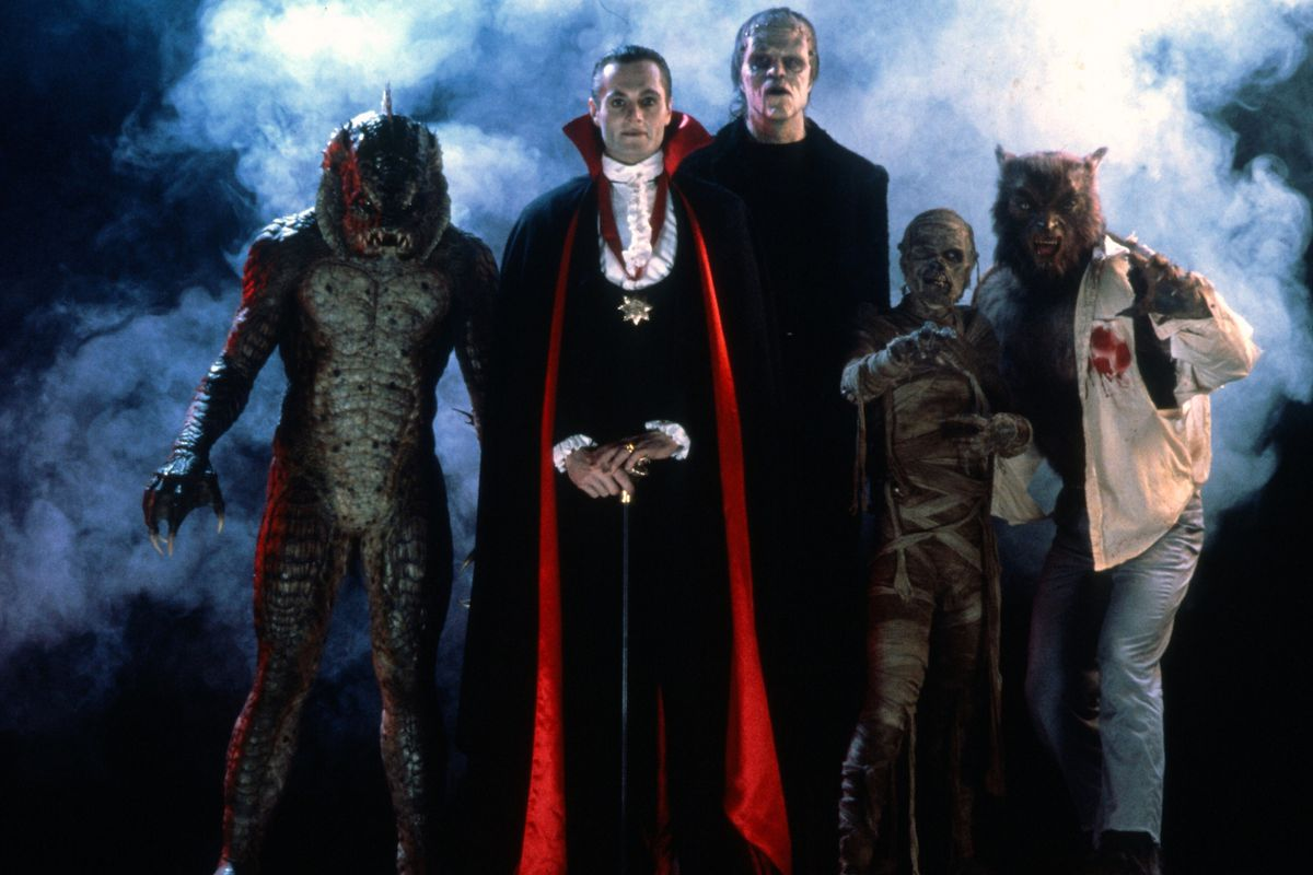 The monsters of  The Monster Squad .