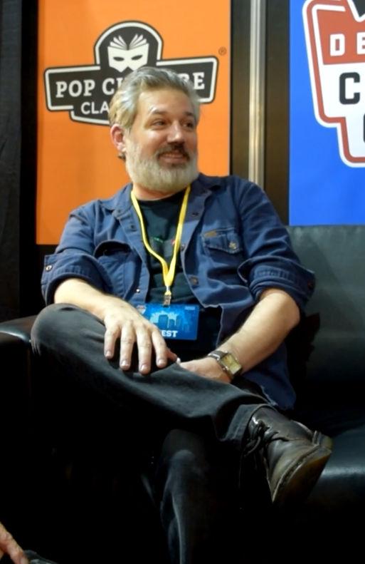Ryan Lambert at Denver Comic Con 2018.