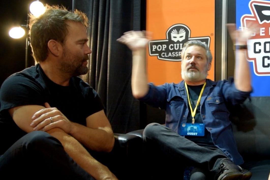 Andre Gower & Ryan Lambert at Denver Comic Con 2018.