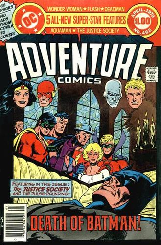 Adventure Comics (1938) #462, cover story written by Paul Levitz.
