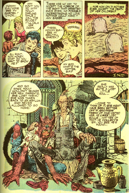 Tales of Ghost Castle (1975) #1 pg5, written by Paul Levitz. (featuring Rover & Lucian)