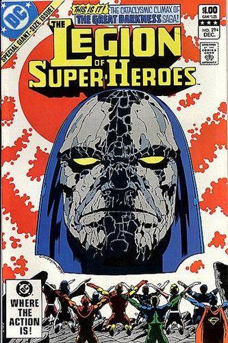 Legion of Super-Heroes (1980) #294, written by Paul Levitz.