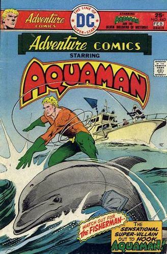 Adventure Comics (1938) #443, cover story written by Paul Levitz & David Michelinie.