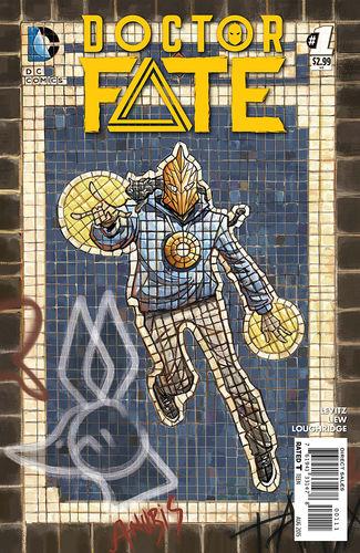 Doctor Fate (2015) #1, written by Paul Levitz.