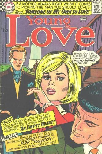 Young Love (1949) #55, cover by Jay Scott Pike.
