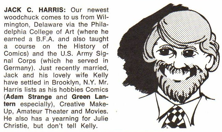 From  Amazing World of DC Comics (1974) #4  pg.8.