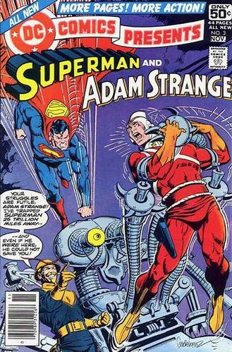 DC Comics Presents (1978) #3, written by David Michelinie & Jack C Harris.
