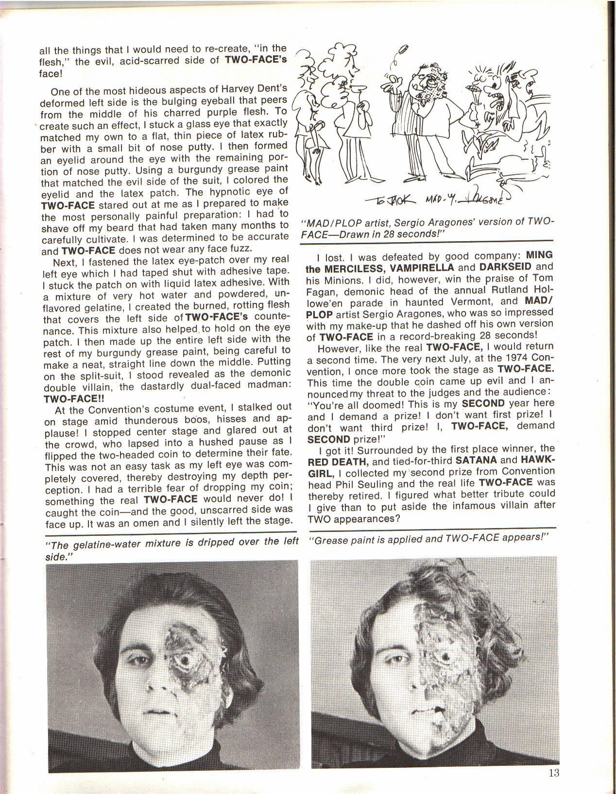 Amazing World of DC Comics (1974) #4 pg.13