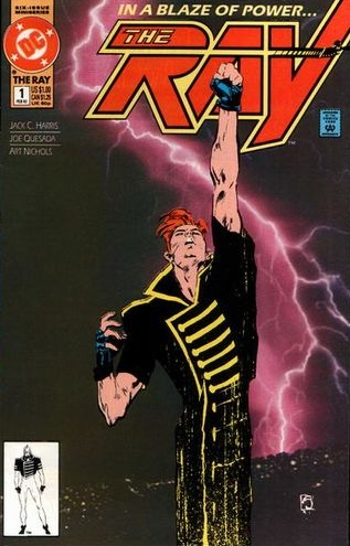 The Ray (1992) #1, written by Jack C Harris.