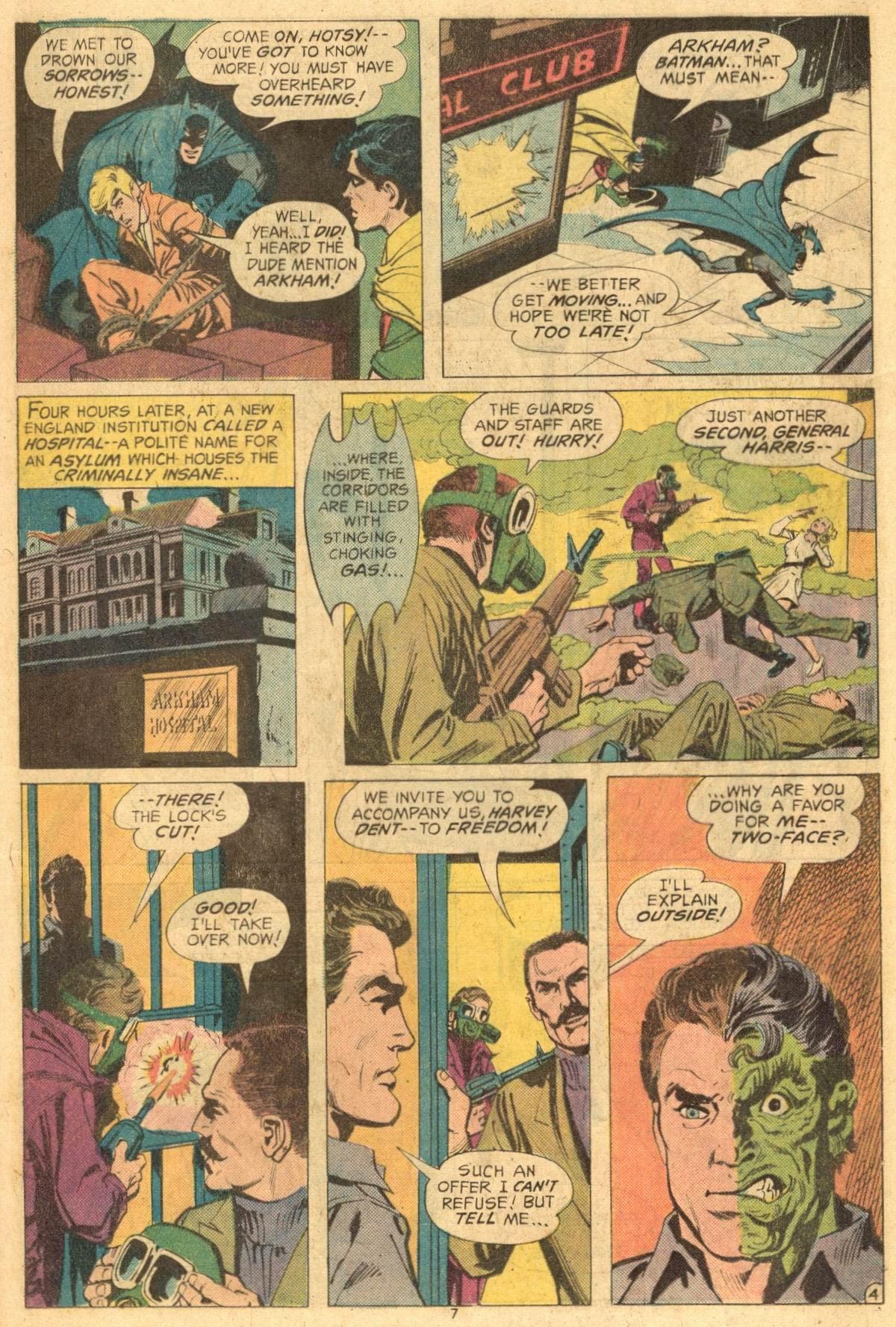 Batman (1940) #258 pg.4, featuring General John Harris.