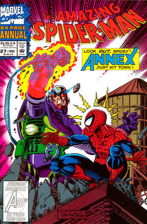 Amazing Spider-Man Annual (1964) #27, featuring the first appearance of  Annex .