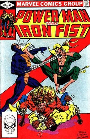 Power Man and Iron Fist (1978) #84, cover by Denys Cowan & Carl Potts.