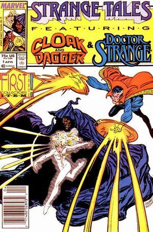 Strange Tales (1987) #1, cover by Carl Potts & Bret Blevins.