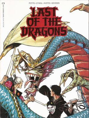 Last of the Dragons (1988) #1 by Carl Potts.