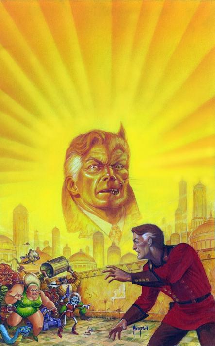 Ex-Chameleon: Daredevils LTD (1987) paperback cover art by Greg Theakston.