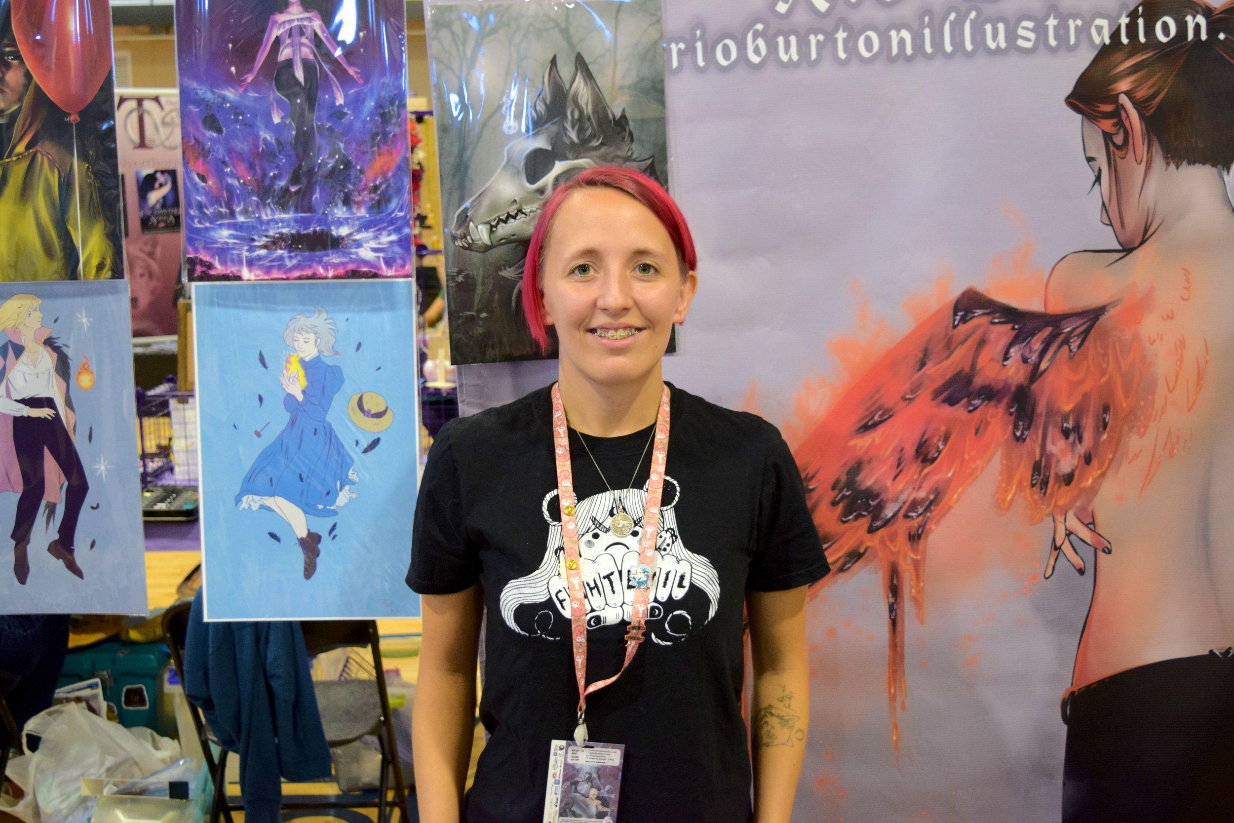 Rio Burton at Fort Collins Comic Con 2018. (1)