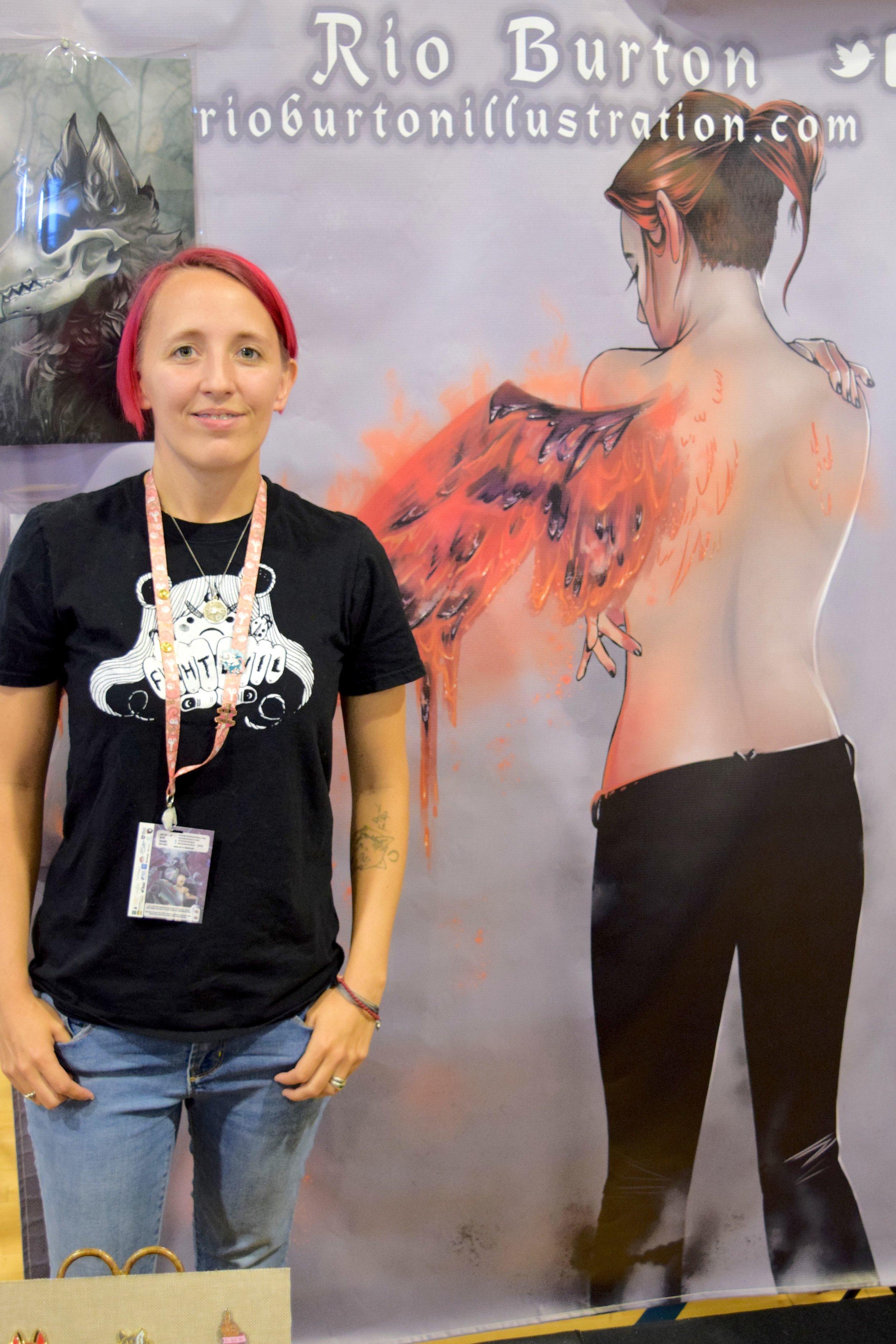 Rio Burton at Fort Collins Comic Con @018. (2)