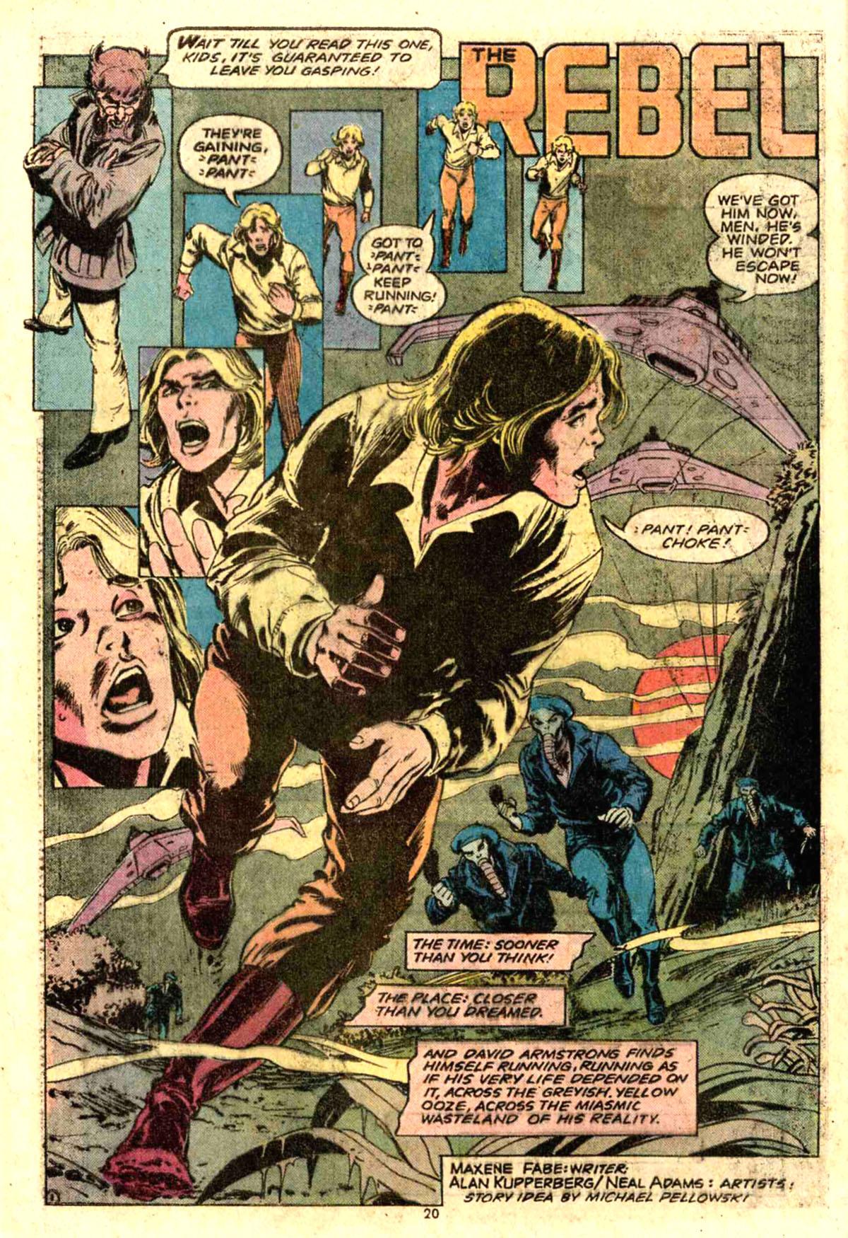 House of Mystery (1951) #228 pg.20, Art by Alan Kupperberg & Neal Adams.