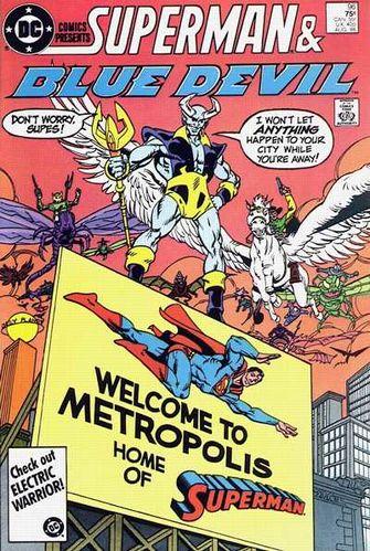DC Comics Presents (1978) #96, cover by Alan Kupperberg.