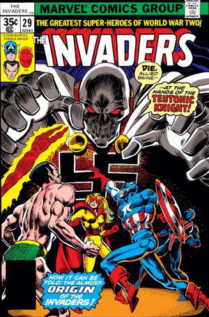 Invaders (1975) #29, cover by Alan Kupperberg & Ernie Chan.