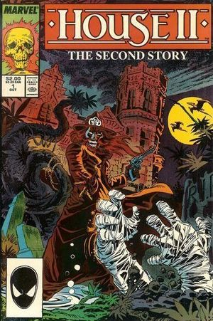 House II The Second Story (1987) #1, cover by Alan Kupperberg.