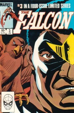 Falcon (1983) #3, cover by Alan Kupperberg.