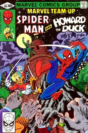 Marvel Team-Up (1972) #96, cover by Alan Kupperberg & Terry Austin.