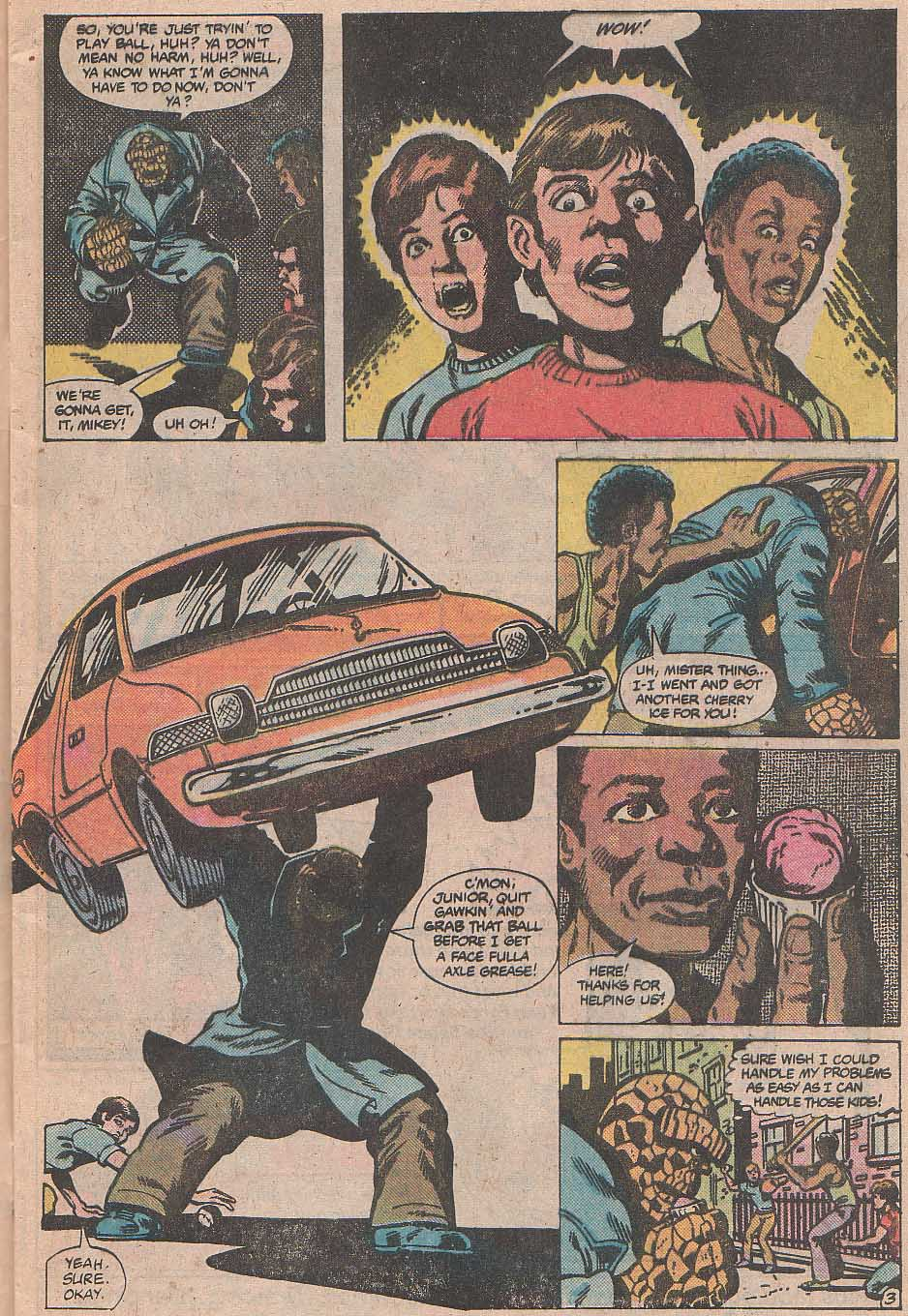 Marvel Two-In-One (1974) #70 pg.3, penciled by Mike Nasser & inked by Gene Day.
