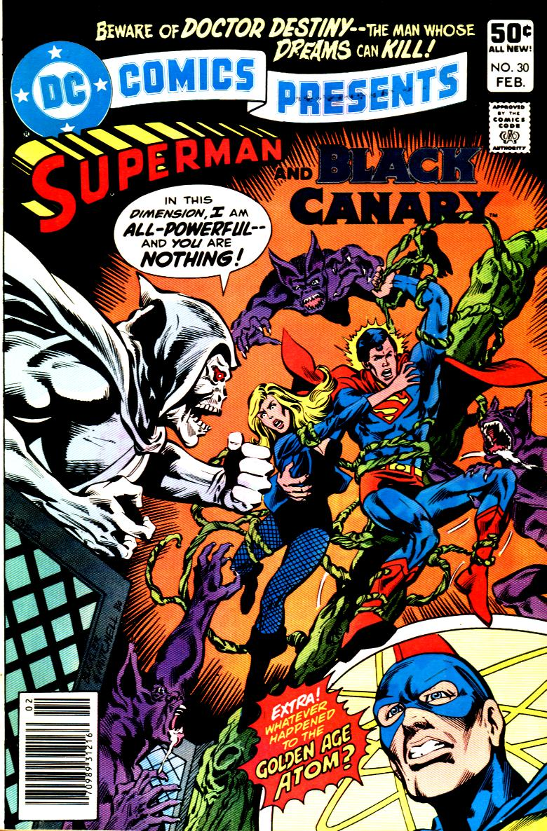 DC Comics Presents (1978) #30, cover penciled by Rich Buckler & inked by Steve Mitchell.
